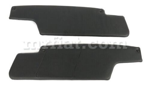 For Porsche 914 Sun Visor Set Black 1970-76 New