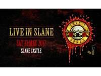 Guns n roses slane tickets (2 x VIP & 2 x GA)