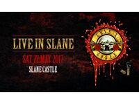 1x STANDING ticket (COST PRICE) for Guns N' Roses in Slane Castle on 27 May'17 (SOLD OUT)