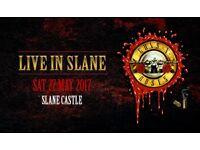 Guns N Roses, Slane Castle