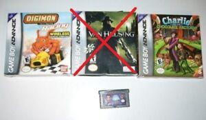 Jeux GameBoy:J.Neutron 10$,Charlie et Chocolate Factory 30$