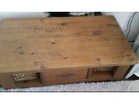 Next Hartford solid oak coffee table for sale