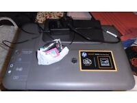 HP Deskjet 1050A All-In-One-Printer (Needs Black Cartridge, Colour Is New!) Inc. Printer Cable