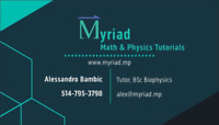 MYRIAD Math & Physics Tutorials:
