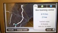 GPS 4.3inch Tomtom Bluetooth with lifetime map free update
