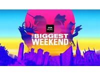 Bbc biggest weekend tickets coventry 27th may x2 £150 ono