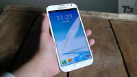 Galaxy Note 2 Unlocked Mint with Otterbox