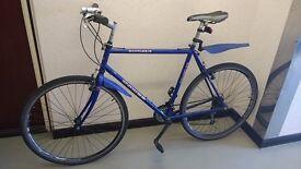 "XL frame DAWES Hybrid adult bike with 28"" (700C) wheels Shimano unisex for ladies man £85"
