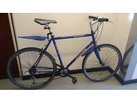 "DAWES Hybrid 28"" (700C) wheels Shimano lightweight unisex ladies man adult racing bike £85"