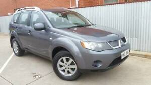 2007 Mitsubishi Outlander LS Automatic SUV Holden Hill Tea Tree Gully Area Preview