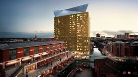 "FANTASTIC CITY CENTRE ""FAMOUS CUBE BUILDING"" APARTMENT IN BIRMINGHAM PROFESSIONALS ONLY"