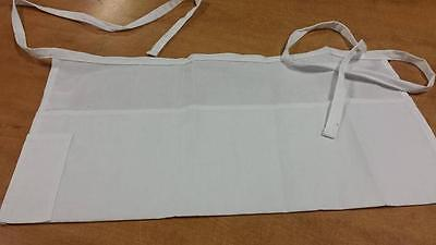 Update White 4 Pocket Waist Apron Wap-wh New In Sealed Package Free Shipping