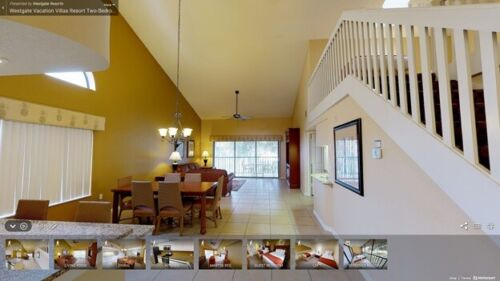 Westgate Resorts Timeshare Two-Bedroom Villa with Loft comes with 3/4 weeks