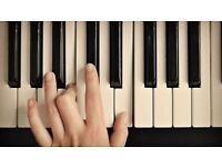 Piano lessons, Harringey, Wood Green, Crouch End, North London