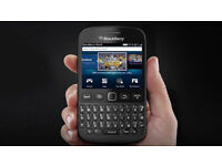 Black BlackBerry Bold 9720 Touch Screen Phone on Vodafone + Micro USB Cable + Free Voda Sim Card!