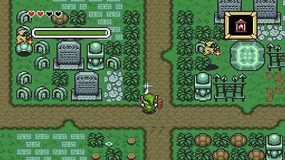 Zelda in Aktion.
