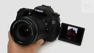 Canon 70D, 5 Lenses, 2 Flashes and Accesories Available