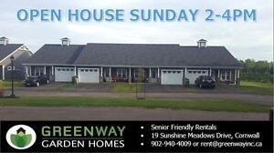 OPEN HOUSE Sunday - Senior Friendly Rentals in Cornwall