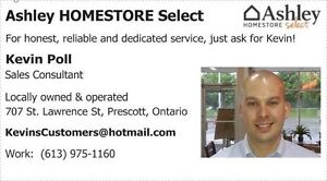 KEVIN POLL - SALES CONSULTANT AT ASHLEY HOMESTORE SELECT