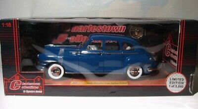 1938 Chrysler New Yorker  1:18 Charleston Collectible   68631  Newport Blue  MIB