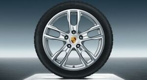 """19"""" Porsche Boxster S Design OEM Wheels and Winter Tires"""