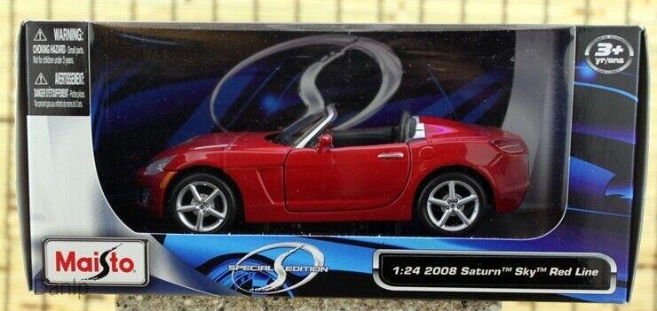 Maisto 2008 Saturn Sky Redline Roadster Diecast 1;24 Scale New In Box
