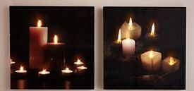 Pictures LED flicking candle effect