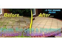 Driveway-Patio-Surface** jetting/washing/cleaning**