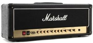 Marshall DSL-100 Tube Head on Crate 4x12 cabinet - LOUD