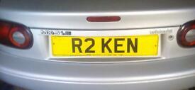 Personalised number R2 KEN.