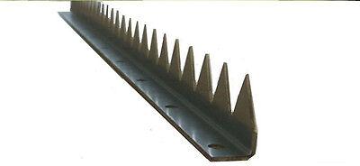 Zackenleiste zum Anschrauben 2 Meter , Zackenprofil , Tor , Zaunspitzen , Zaun
