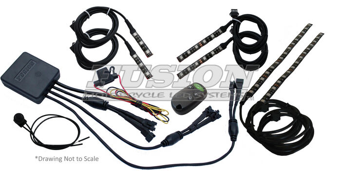 Fusion Snowmobile LED Lighting System –Stage 1 Arctic Cat Skidoo Polaris
