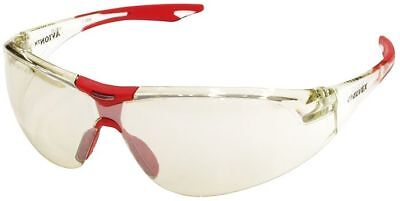 Elvex Avion Safety Glasses With Red Temple Tip And Indooroutdoor Lens