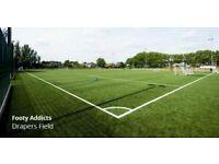 East London football league - Mondays - 7 a side