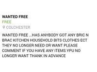 Wanted freeb