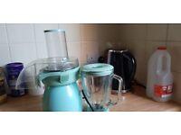 Barely used baby blue juicer / Blender