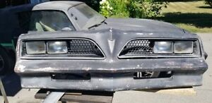 Bumper Firebird 1977-1978 Trans am