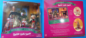Vintage Barbie Stacie Kelly Doll CHRISTMAS SISTERS GIFT SET NEW