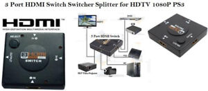 New 3 Port HDMI Switch-3 HDMI Inputs,1 Output, Auto Switching
