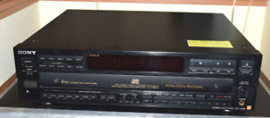 Sony 5 disk CDP-C79ES CD player.