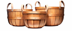 Baskets, Wooden Crates, Wooden Boxes, Shelves