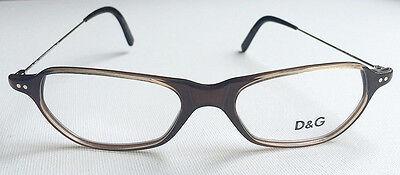 DOLCE&GABBANA-ORIGINAL-D&G-4027-Brille-Brillengestell-Brillenfassung-Braun-NEU