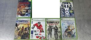 11 XBOX 360 GAMES, STEEP FOR PS4, FOR HONOR XBOX, LADY DEATH