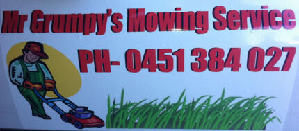 . Mr Grumpy.s.Lawn Mowing Service. Atwell Cockburn Area Preview