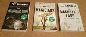 The Magicians - SY/FY TV Series 3 great books in the series