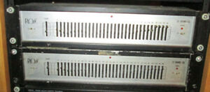 Ross 31 Band Rack Mount Equalizer -$60 each or 2 for 100 bucks f