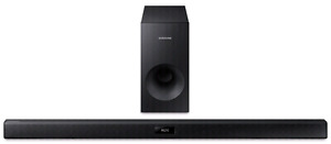 Samsung sound bar and sub woofer