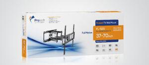 """FULL MOTION TV WALL MOUNT BRACKET FOR 37""""- 70"""" TV FL-525"""