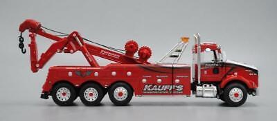DCP KAUFF'S KW T800 W/TRI-AXLE WRECKER 1/64 50th ANNIVERSARY 69-0545