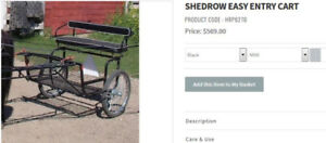 Shedrow Easy Entry Cart